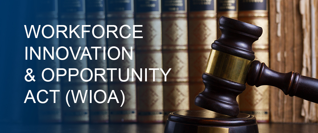 Workforce Innovation and Opportunity Act