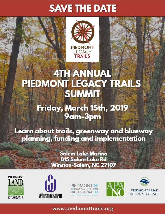 Piedmont Legacy Trails 2019 Flyer