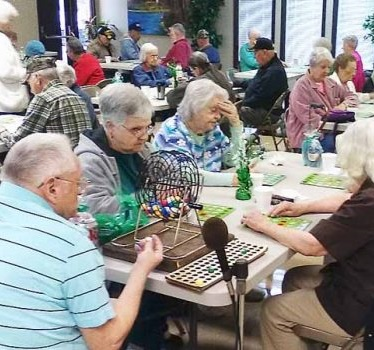 Visit an area senior center