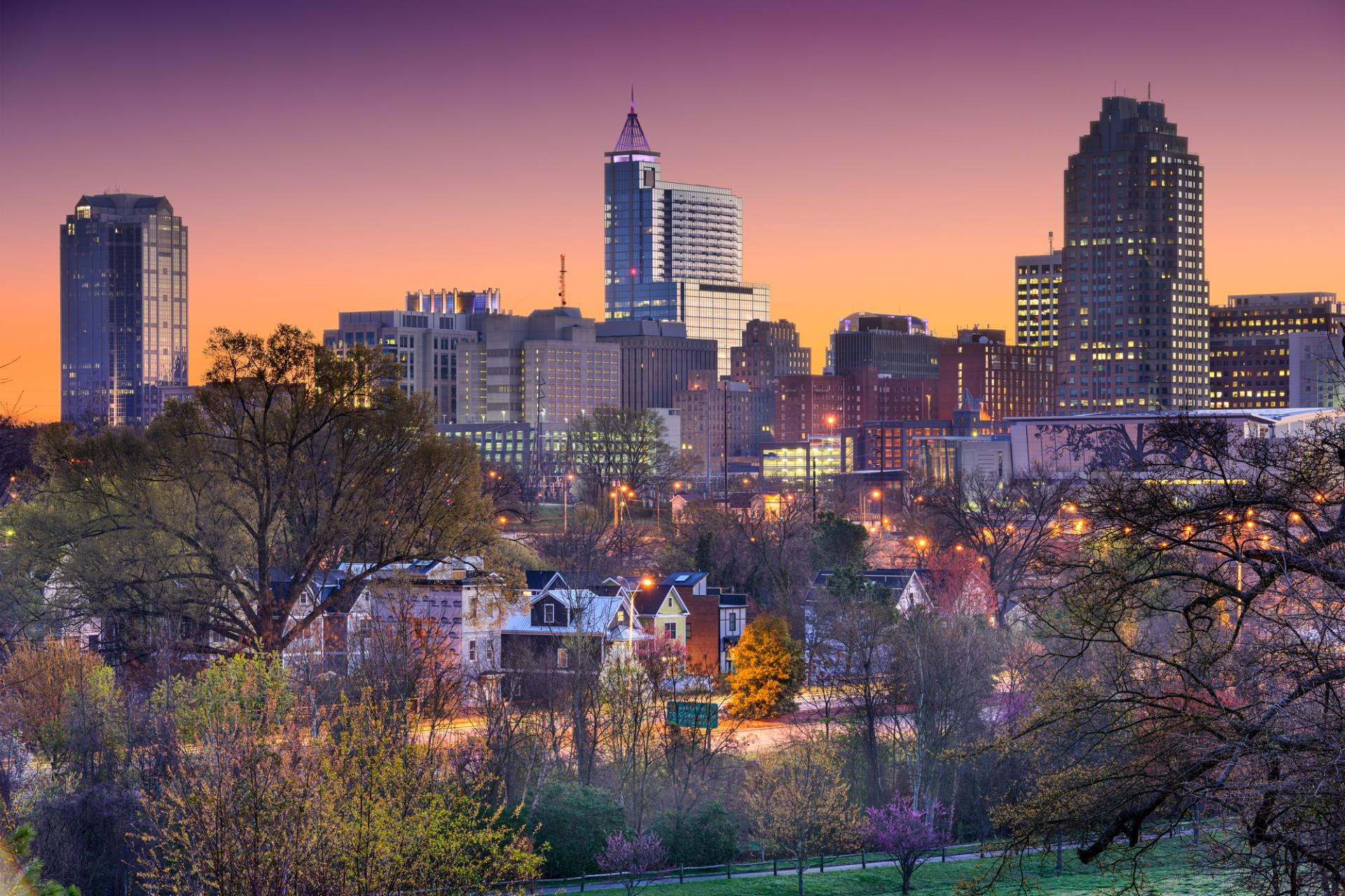 City of Winston-Salem skyline