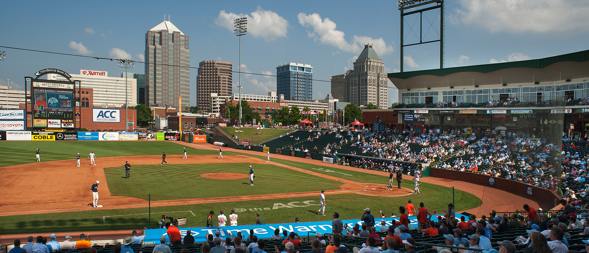 Greensboro baseball stadium