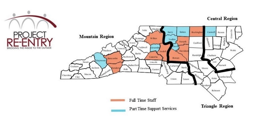 Post Release Services - Project Re-entry | Piedmont Triad