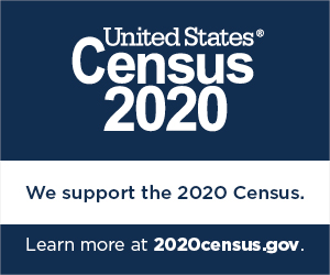 PTRC Supports the 2020 Census