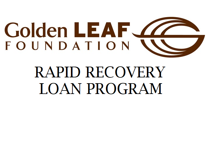 Economic Development Update -  Golden Leaf Recovery Loan Program