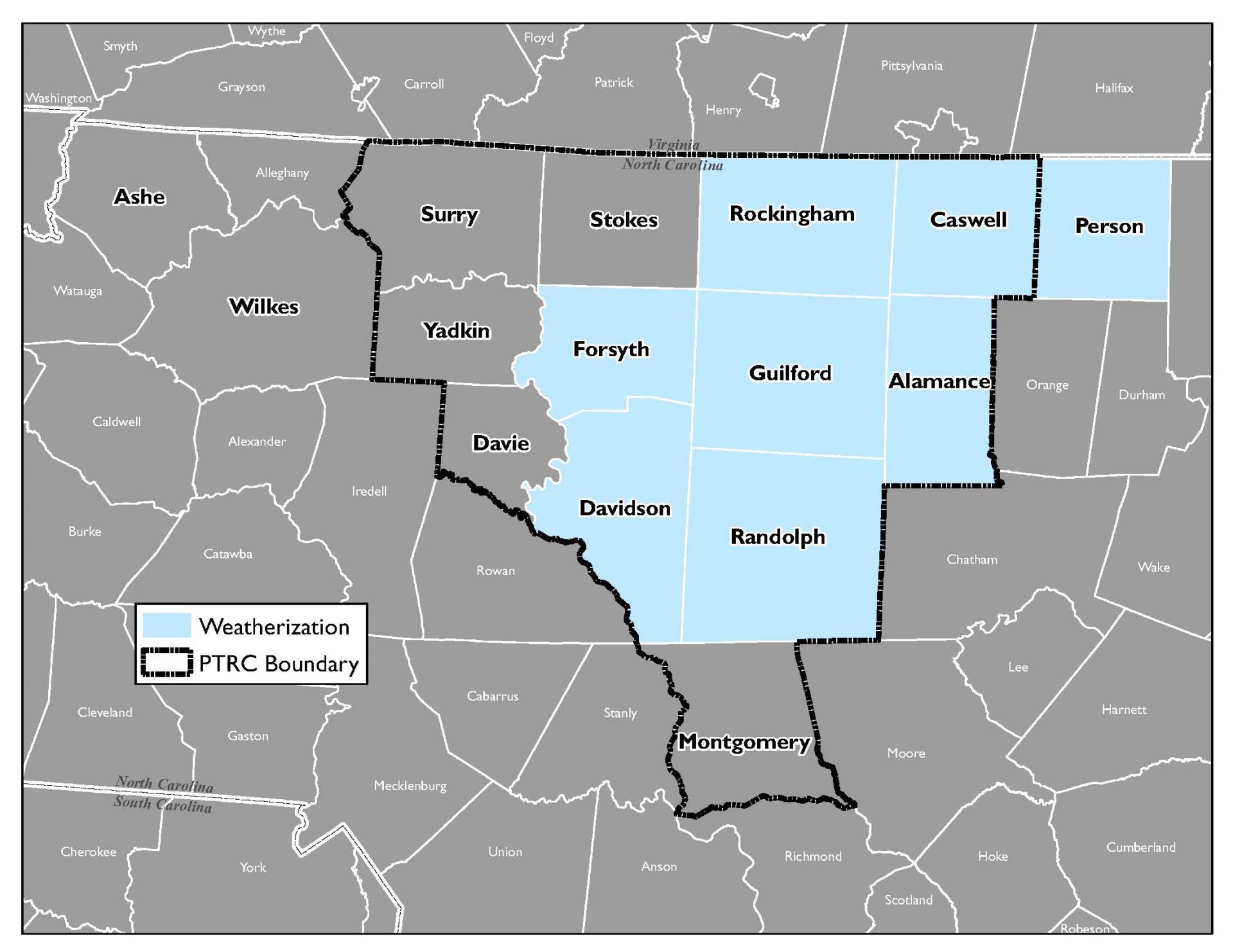 Weatherization Assistance | Piedmont Triad Regional Council, NC